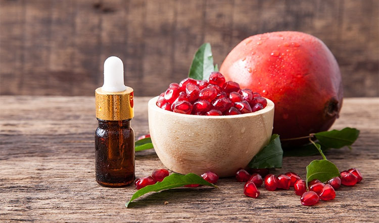 pomegranate seed oil good for hair