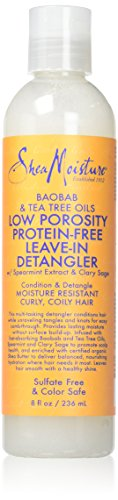 Shea Moisture Baobab & Tea Tree Oils Low Porosity Protein-Free Leave-In Detangler for Unisex. review