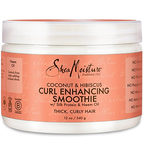 Shea Moisture Coconut Hibiscus Curl Enhancing Smoothie review