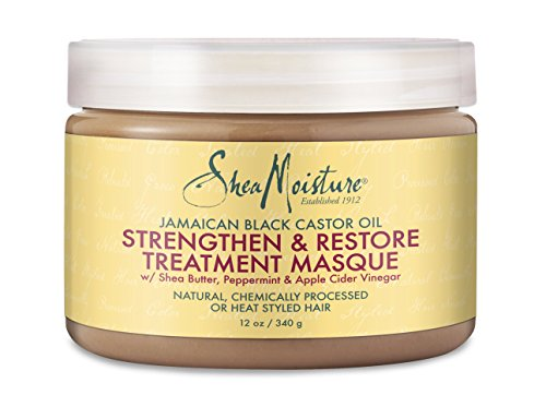 Shea Moisture Jamaican Black Castor Oil Strengthen & Restore Treatment Masque review