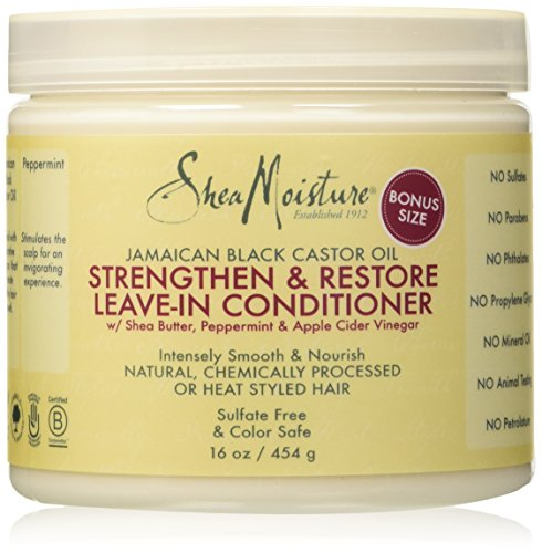Shea Moisture Strengthen & Restore Leave-In Conditioner review