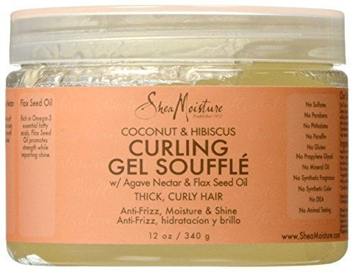 SheaMoisture Coconut & Hibiscus Curling Gel Souffle review