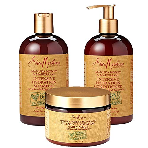 SheaMoisture Manuka Honey & Mafura Oil Intensive Hydration Combination Set review
