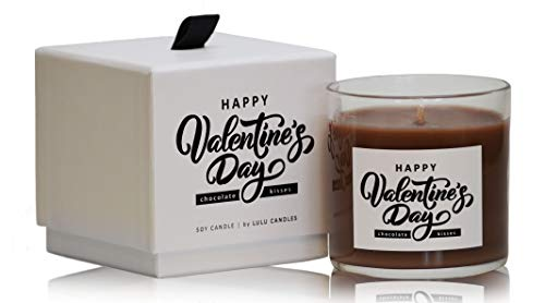 Chocolate Kisses | Happy Valentine's Day | Luxury Scented Soy Jar Candles
