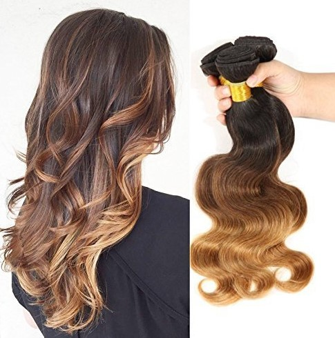 Beautyplus Hair® Brazilian Ombre Layered Wavy Body Wave Hair