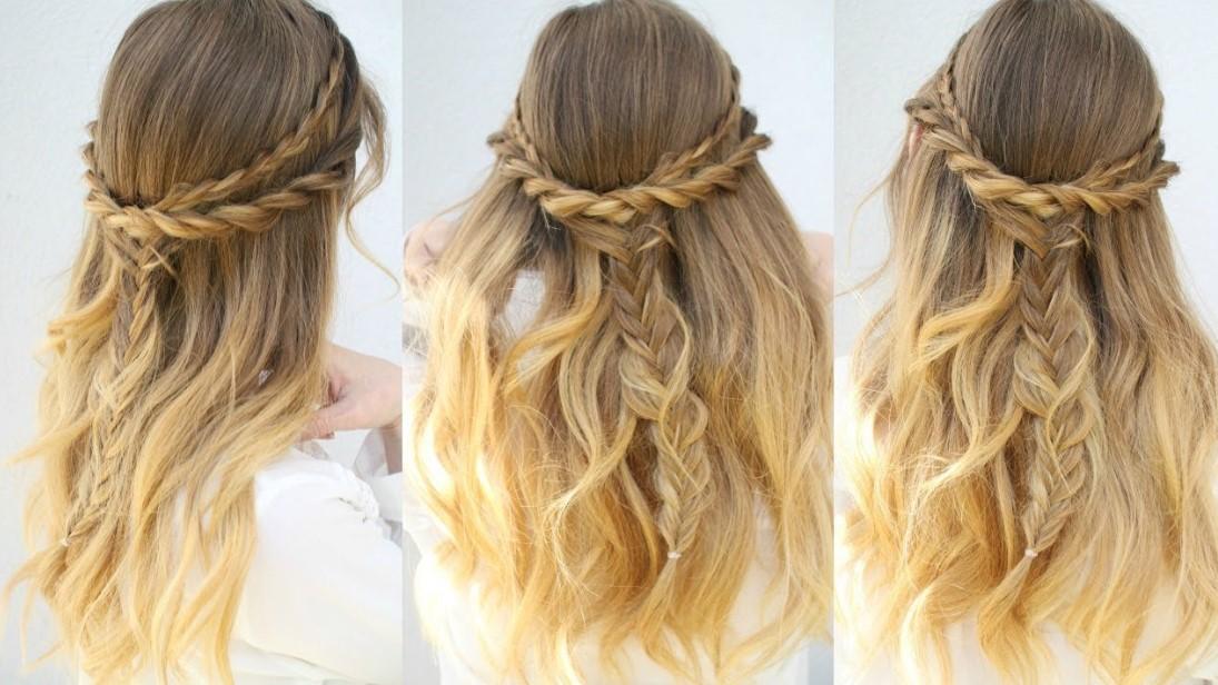 Half Up Hair Style