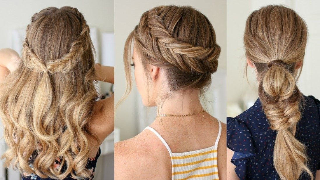 7 Fast and Easy Hairstyles , Sugar\u0026Fluff