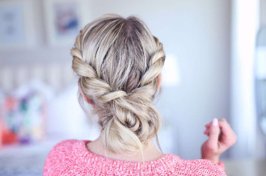 Twisted Messy Bun